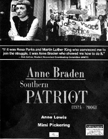 Anne Braden: Southern Patriot Poster image